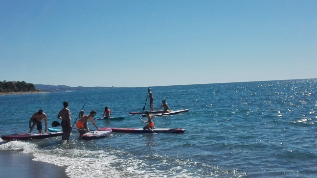 Curso The Hawaiians SUP Center Marbella