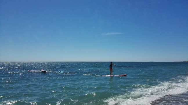 Curso de Paddle Surf Playa The Hawaiians SUP Center Marbella