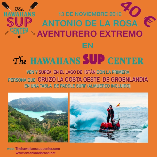 Antonio de la Rosa En The Hawaiians SUP Center