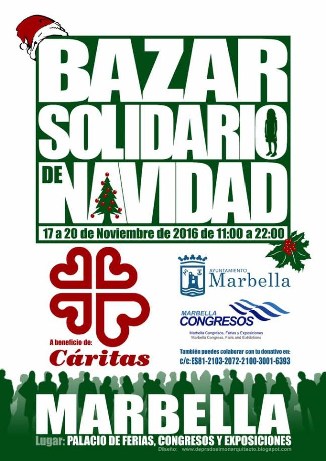 Bazar de Navidad Caritas Marbella The Hawaiians SUP Center
